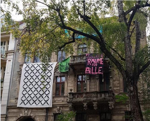 Feuerbachstraße: 2 Jahre nach der Besetzung hat sich nix geändert.