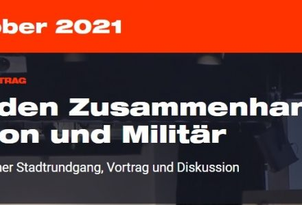 """""""Friedensgarnisonkirche? – Über den Zusammenhang von Religion und Militär"""""""
